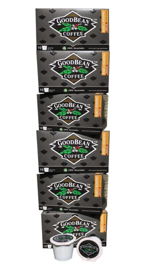 6 Pack Boxes Single Serve Cup